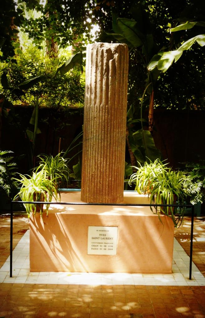 Yves Saint Laurent memorial